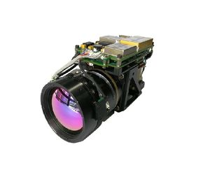 30km Detection Long Range Thermal Camera MWIR 640 X 512 Resolution MCT 30 - 300 Zoom Lens